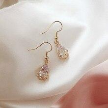 Dangle Earrings Crystal In-Jewelry Classic Water-Drop White Bohemian Women