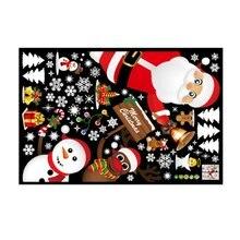 Weihnachten Tür Und Fenster Dekoration Aufkleber Shop Fenster Glas Szene Layout Schneeflocke Aufkleber Wand Aufkleber