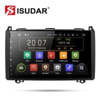 Isudar Car Multimedia Player GPS Android 9 2 Din DVD Automotivo For Mercedes/Benz/Sprinter/Viano/Vito/B class/B200/B180 Radio