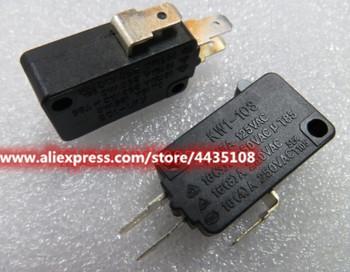 2 sztuk KW1-103 mikro przełącznik 15A 125V duże mikro przełącznik limit kuchenka mikrofalowa mikro przełącznik tanie i dobre opinie CN (pochodzenie) Z tworzywa sztucznego high quality