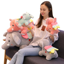 30/40/50/60cm plush Elephant Bedtime Originals Elephant Plush Toys Elephant Humphrey Soft Stuffed Plush Animal Doll for Kids  - buy with discount