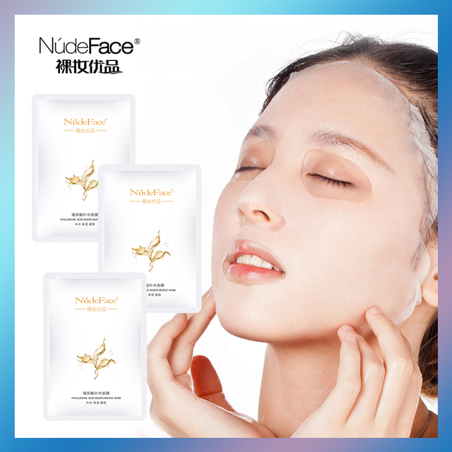 Sheet Mask Korean Cosmetics Makeup Remover Blackhead Acne Treatment Skin Care Organic Korean Face Mask Anti Aging Whitening 3