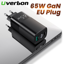 65W GaN Charger Quick Charge 4.0 3.0 For iPhone 11 Pro Max Samsung Type C PD USB Charger with QC 4.0 3.0 For PC Computer Laptop