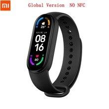 Global Version Xiaomi Mi Band 6 Smart Bracelet Watch AMOLED Blood Oxygen Miband 6 Fitness Traker Bluetooth Waterproof Smart Band