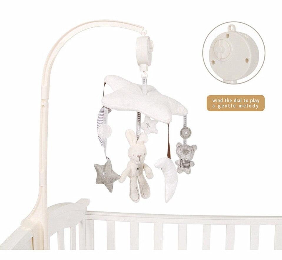 Chocalhos do bebê berço móveis brinquedo macio