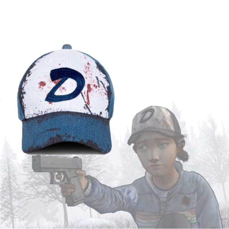 The Walking Dead Clementine Hat Cosplay Headwear Costumes Cap Accessories Unisex Headdress Costume Accessories Prop