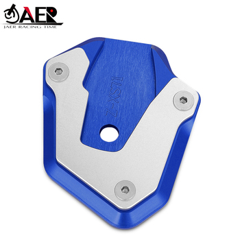 JAER Motorcycle CNC Kickstand Foot Side Stand Extension Pad Plate Enlarger for Suzuki GSX-S 750 GSXS 1000 2017 2018 2019