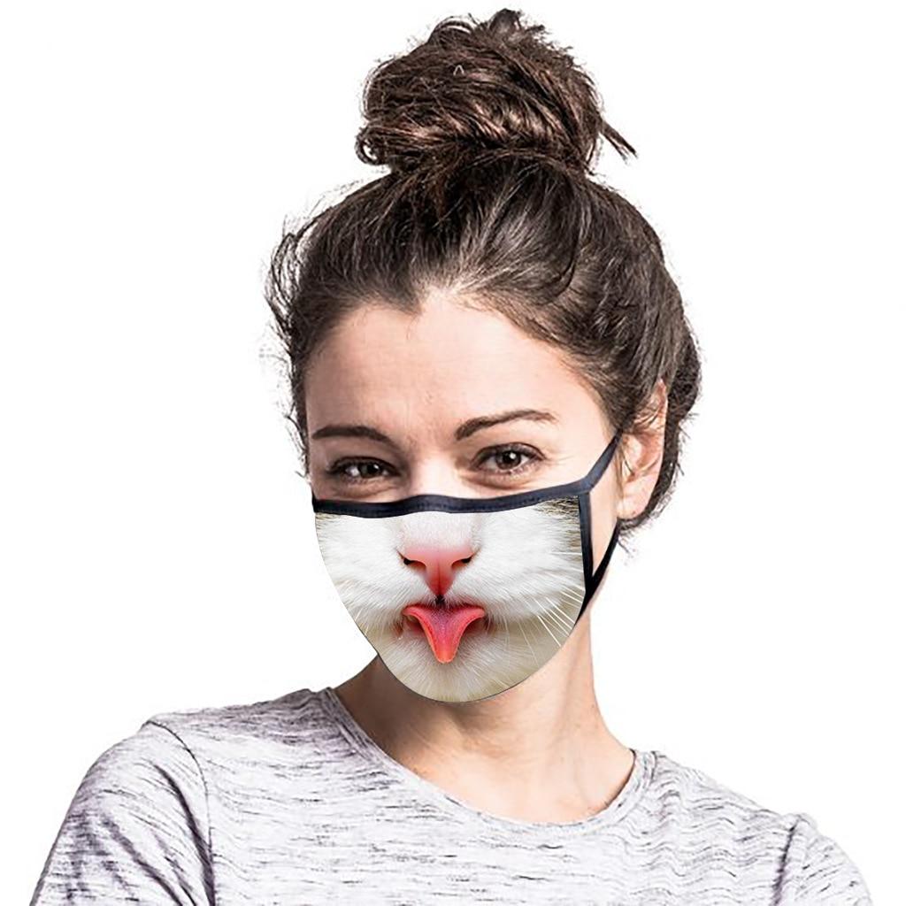 Cattitude Cat Themed Face Masks