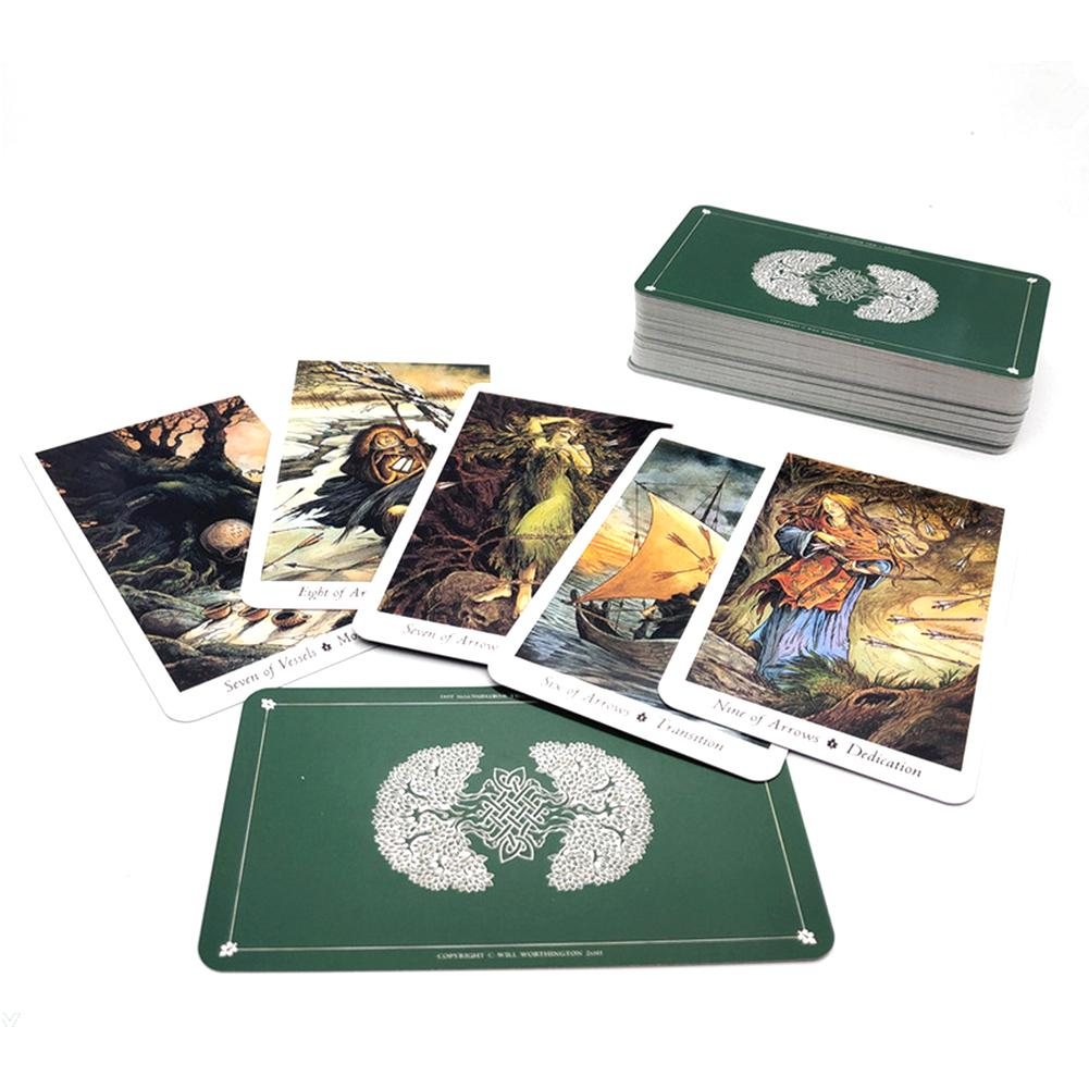 New English Board Game Tarot Cards Wild Wood Tarot Family Entertainment Kids Toys Table Game