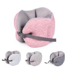 Универсальная удобная мягкая u-образная подушка для путешествий офисная Подушка спальные аксессуары