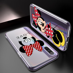 Image 2 - Silicone Cover Lovely Minnie Mouse For Xiaomi Mi Note 11 11i 10i 10T 10 9 9T SE 8 Lite Pro Ultra Phone Case