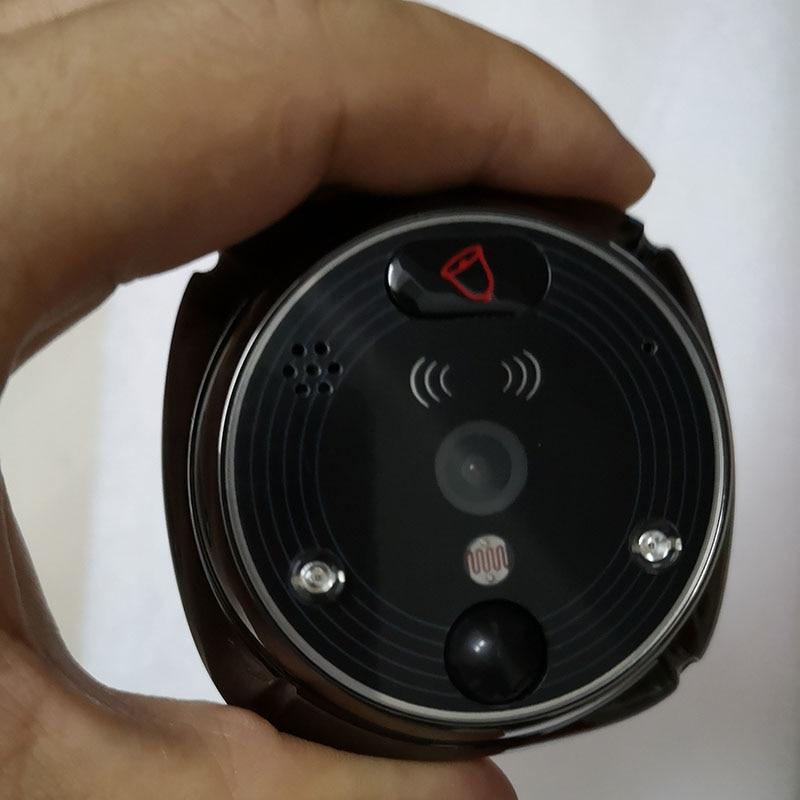 ROLLUP IHome4 WiFi Peephole Door Camera Doorbell Only Video IP Doorbell IR PIR Motion Detect Alarm Only Doorbell Shipment