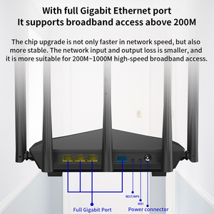 Image 5 - GC11 AC1200 Wireless WiFi Router with 2.4G/5.0G High Gain Antenna Wifi Repeater Dual Band Wireless Router,App Control