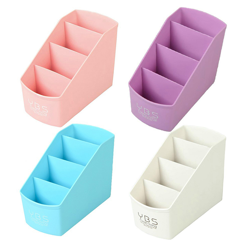 Plastic Multi-Desktop Storage Box Living Room Cosmetic Storage Box Desktop Cosmetic Storage Box