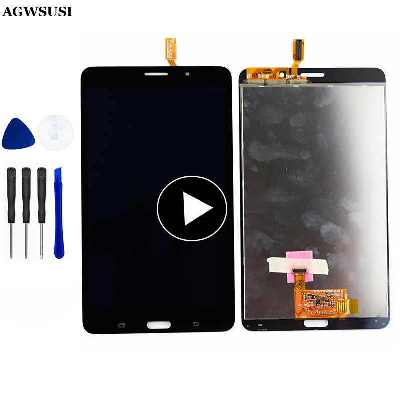 Digitizer Touch Screen Sensor Glass + LCD Display Monitor Panel Assembly For Samsung Galaxy Tab 4 7.0 T231 SM-T231 T235