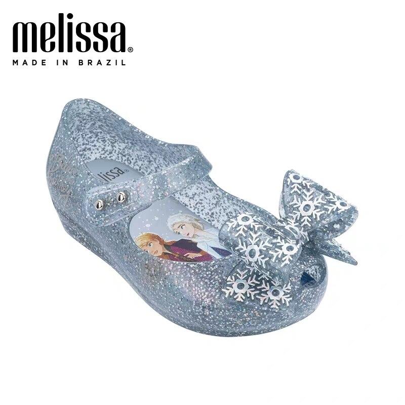 מיני מליסה 2020 שלג נסיכת בנות בני סנדלי ילדי סנדלי בעלי החיים מיני מליסה נעלי ילדי מליסה סנדלי