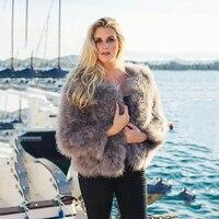 TOPFUR 2019 Black Real Fur Coat Women Fur Jacket Natural Fur Coats Women Leather Jacket With Fur Wine Red Coat Short Plus Size