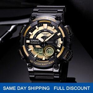 Image 1 - Casio watch Bán chạy nhất đồng hồ nổ nam thiết lập thương hiệu hàng đầu sang trọng quân đội đồng hồ kỹ thuật số relogio thể thao 100m không thấm nước thạch anh đồng hồ relogio masculino reloj hombre erkek kol saati