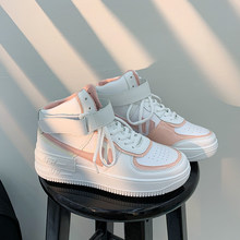 Sapatos de plataforma plana plus size 42 sapatos de skate macarone candy mulher ins lazer novo chique mulher maré baixo topo tênis streetwear