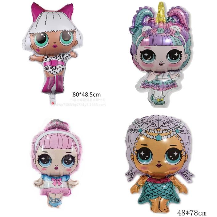 Novo 2020 genuíno l. o. l. surpresa! Boneca brinquedo balão figura brinquedos originais lols bonecas para crianças meninas presentes de aniversário festa decoratio