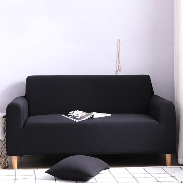Купить комплект эластичных чехлов для дивана хлопковые однотонные эластичные картинки цена