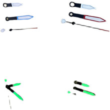 Groene Lichtgevende Wijzers Set Voor NH35 NH36 Horloge Beweging Drie Pointers Groene Lichtgevende Naalden Reparatie Onderdelen