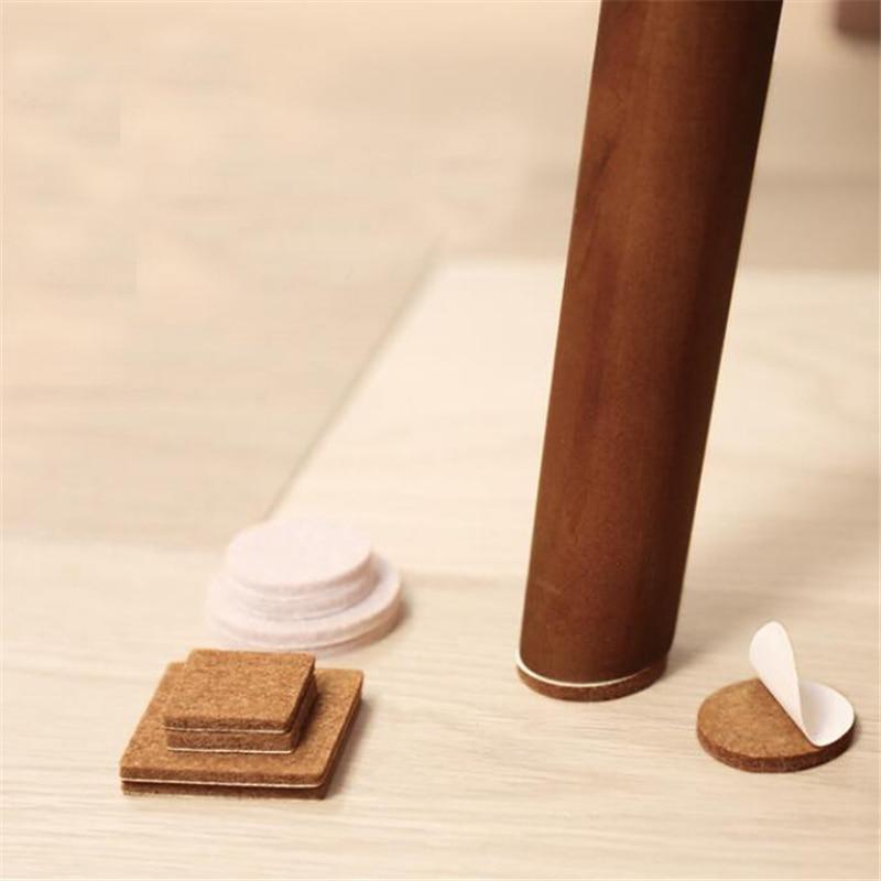 1set Home Slip Felt Sticker Appliances Sticker Silent Wear-resistant Silencer Pad Useful Protection Pads For Furniture