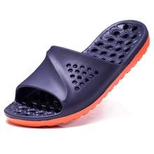 Massage Sandals Flip-Flops Slides Beach-Slipper Non-Slip Bathroom Summer Mens Casual