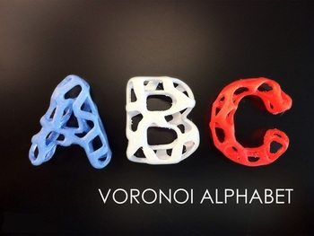 A-Z Style Custom order highqualityhighprecision digital models 3D printing service Education Teaching Aid Tools ST3011