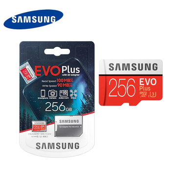 SAMSUNG EVO Plus Memory Card Class10 100MB 256GB 128GB 64GB  Micro SD Cards UHS-I U3 4k MicroSDXC TF Card for Camera drone
