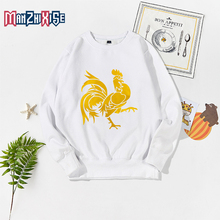 цены New Arrival Children Clothes Sweatshirts Boys Costume Girls Long Sleeve 2019 Kids O-Neck Autumn Cartoon Cock Printing Clothing