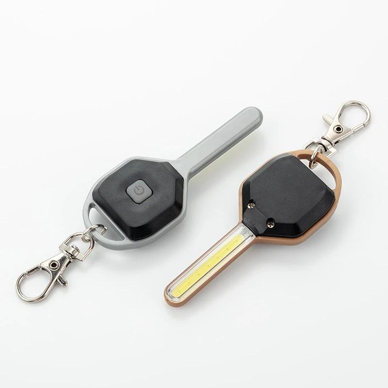 Flashlight Keychain Mini LED Light Torch Keyring Key Chain.