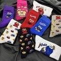 Носки для косплея с героями мультфильмов Улица Сезам Elmo печенье монстр Новинка Забавные милые женские носки зимние удобные хлопковые носки