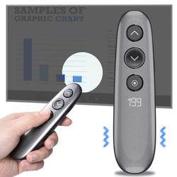 Flip Pen H100 Magnifying Glass Spotlight Timer PPT Multi-function Projection Pen For Wireless Presenter Digital USB Presentation