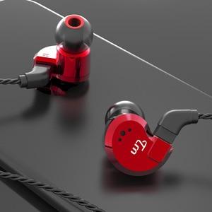 Image 5 - TRN V80 2BA + 2DD hibrid Metal kulak kulaklık HIFI DJ Monito koşu spor kulaklık kulak tıkacı kulaklık ayrılabilir kablo AS10 \ T2 \ V30