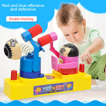 Hot Sale Kids Toy Against Man Hit Head Fighting Puppets Parent-Child Interaction Game Toys(China)