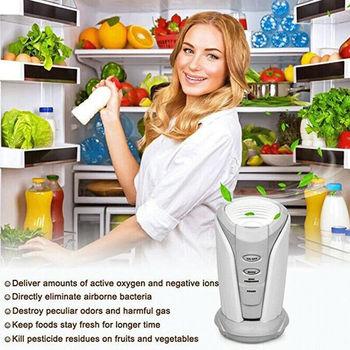 Lodówka oczyszczacz powietrza Home dezodorujący Generator jonizatora jonizator sterylizacja filtr bakteriobójczy lodówka aktywny Oxidizer tanie i dobre opinie CN (pochodzenie) Refrigerator Ozone Air Purifier Torebki z węgla aktywowanego DO LODÓWKI