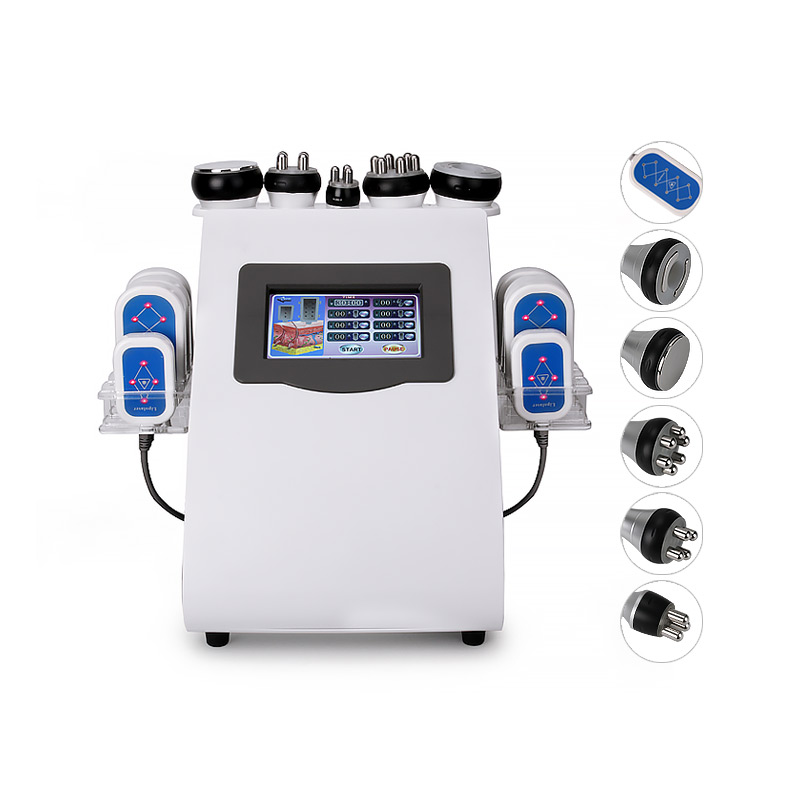 2019 Newest 6 In 1 Lipo Laser+ Cavitation+RF+Vacuum/ RF 40K Cavitation Vacuum Lipolaser Slimming Body Weight Loss Machine