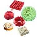 Несколько типов инструментов для украшения торта антипригарная силиконовая форма вечерние муссы десертные формы для выпечки Кондитерские...