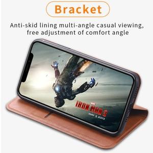 Image 5 - Ретро Кожаный чехол для Xiaomi Redmi Note 7 7s 8 9 8t 9S Pro Max Авто Магнитный флип чехол Redmi 7 7A 8 8A кошелек книга K30 Pro Сумка