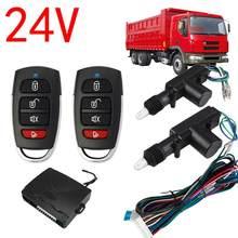 Système de sécurité de verrouillage Central de voiture, 2 portes, Kit d'entrée sans clé avec unité de commande principale/télécommande/actionneur