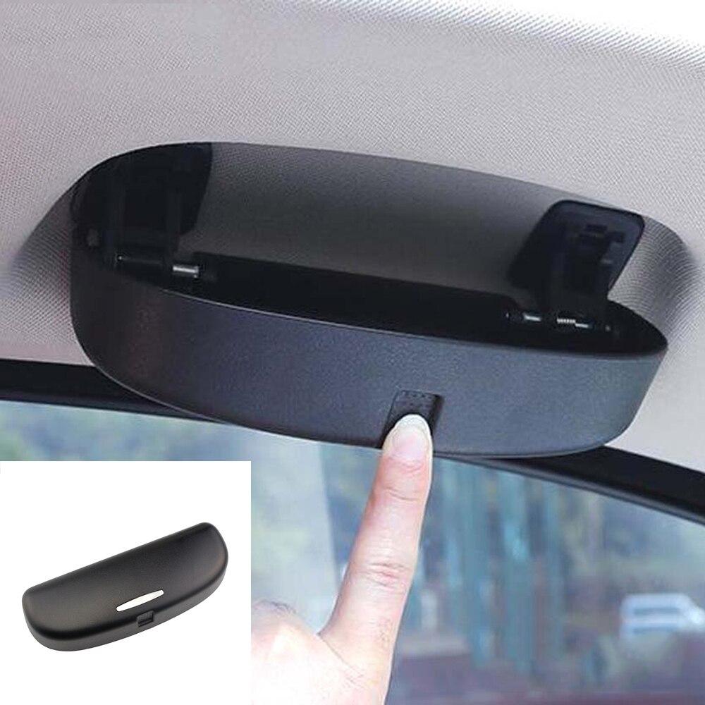 Автомобильный держатель для солнцезащитных очков Солнцезащитные очки для очков, чехол для BMW X1 X3 F25 X5 G05 F10 F11 F20 i3 аксессуары