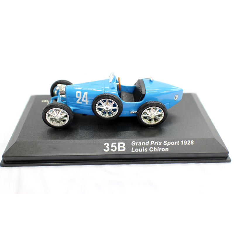 1 43 1928 BUGATI T35B Diecast Alloy Classic Racing Car Vehicle Model Simulation Vintage Display Show Collection Artwork Kid Gift in Diecasts Toy Vehicles from Toys Hobbies