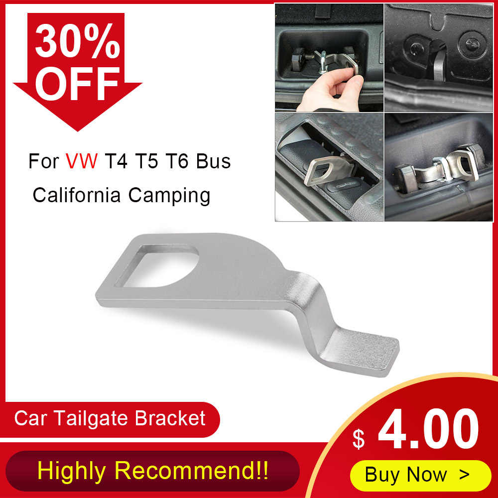 Car Tailgate Bracket Rear Barn Double-door Holder Replacement Stainless Steel for VW T4 T5 T6 Bus California Camping