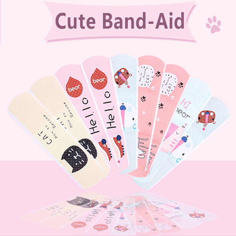 First Aid Bandage Cute Cartoon Band Aid Adhesive Stickers Waterproof Baby Kids Care First Band Aid Travel Camping Emergency kit