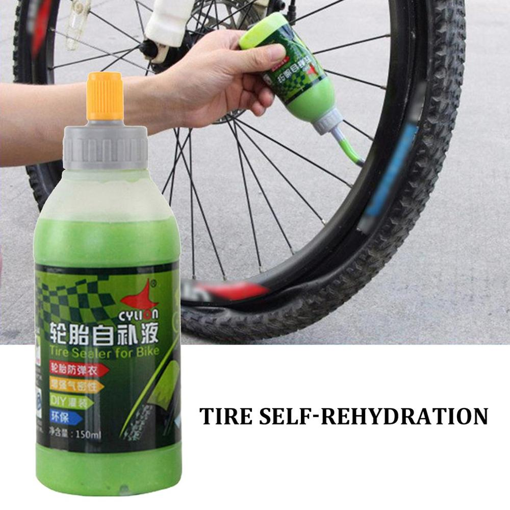 Tire Fluid 150ML Tire Self-rehydration Mountain Bike Tire Sealant Machine Protection Bicycle Tire Repair Fluid