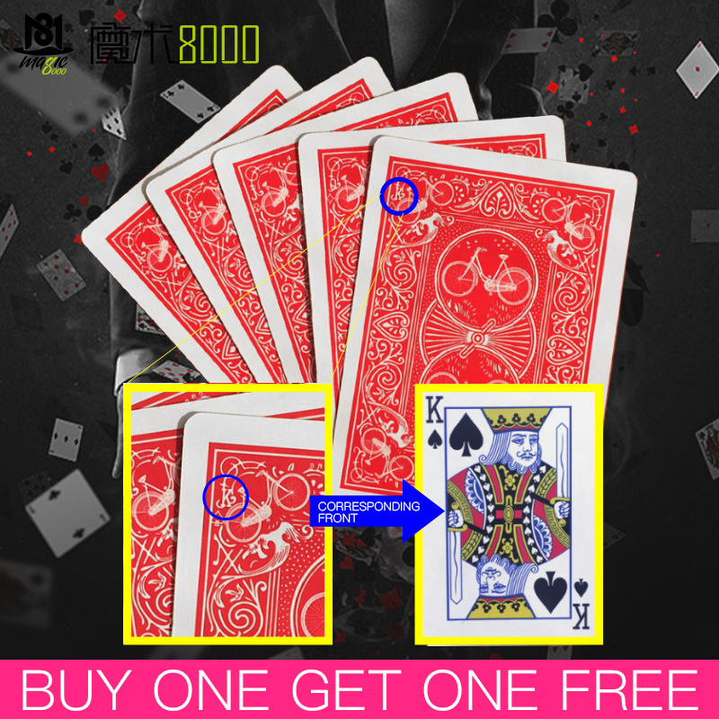 Secret Marked Poker Cards See Through Playing Cards Magic Toys Simple But Unexpected Magic Tricks Magic Poker Magic Props Buy On