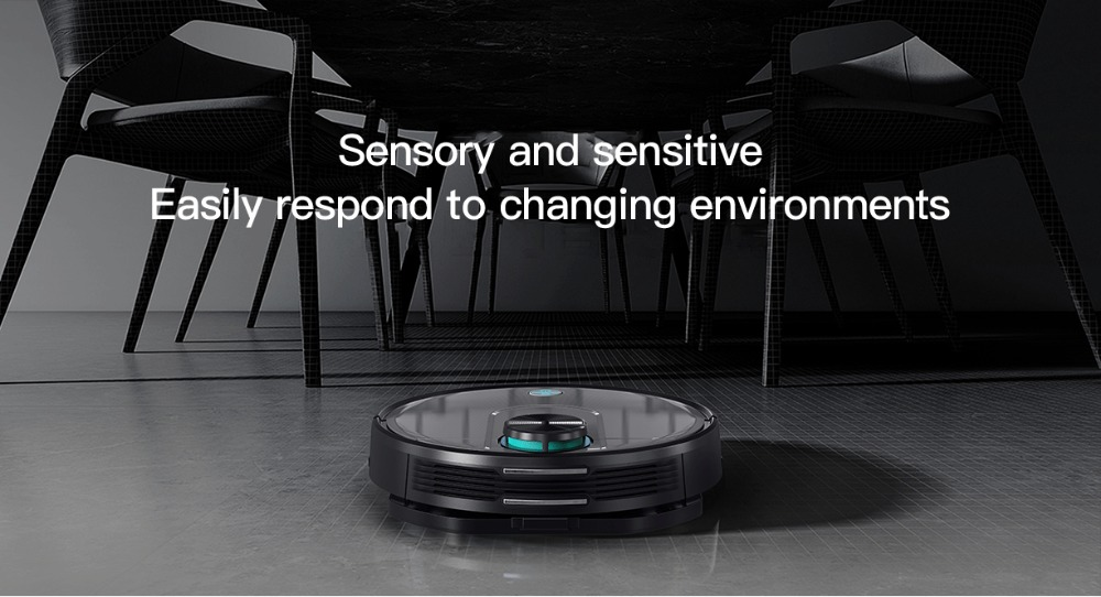 Original VIOMI V2 PRO vacuum cleaner 2100pa LDS strong suction sweeping robot automatic charging LDS laser navigation scanning 13