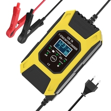 FOXSUR 12V 7A 7 Stage Pulse Battery Charge for EFB GEL WET AGM Car Motorcycle Battery Charger