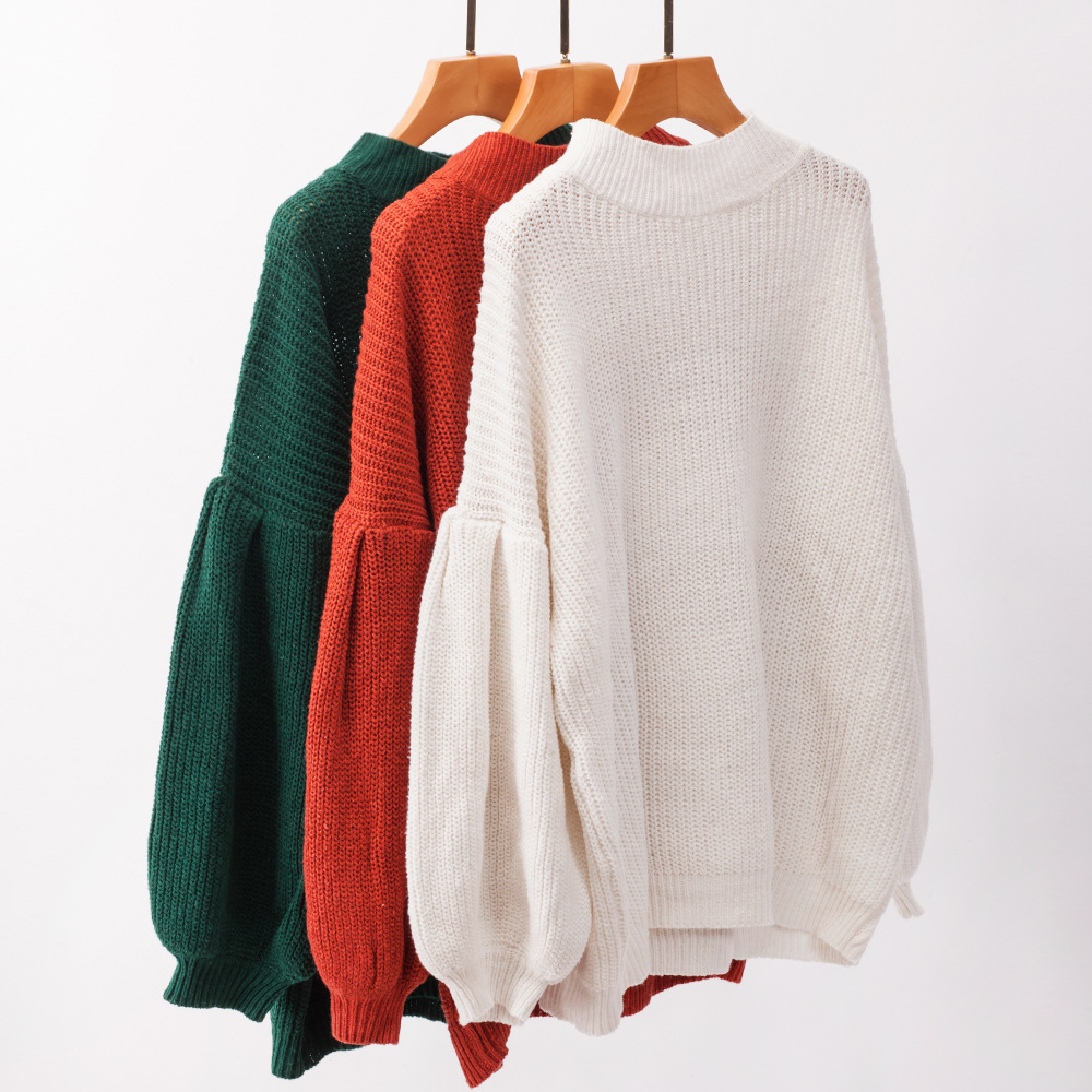 knitted sweater christmas pullover womens korean top casual computer women sweaters plus size harajuku 2019
